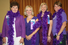 2011 Paint It Purple Planners