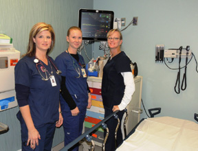 medical assistant in emergency room
