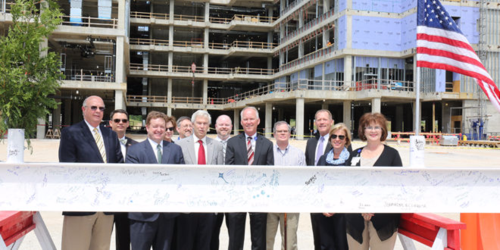 Baptist-North-Mississippi-Topping-off-Ceremony-Marks-Milestone-660x330