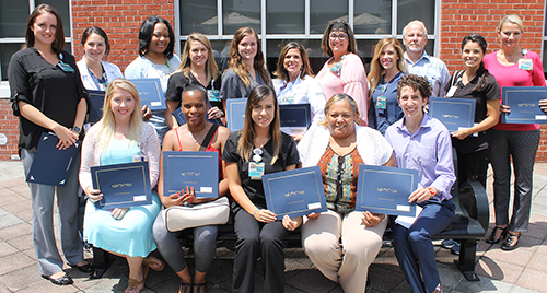Memorial Auxiliary Awards Over $24 000 in Scholarships to Memorial Employees