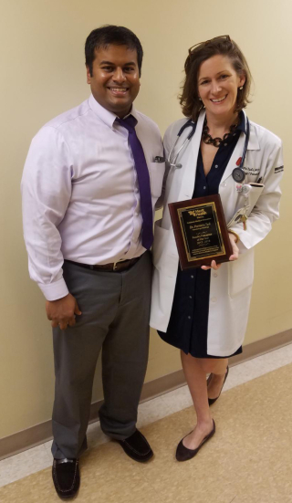Memorial Oncologist  Hematologist Awarded Preceptor of the Year